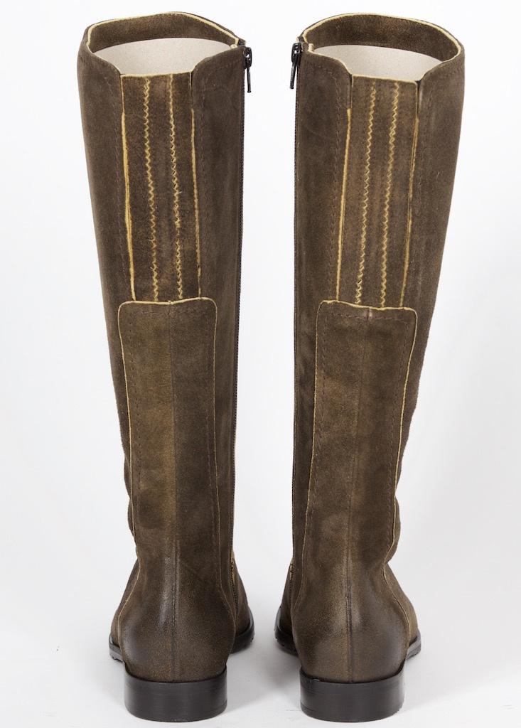 501801 dirndl+bua Stiefel Antikbock ahorn