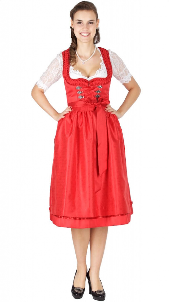 15442 kr ger collection 70er dirndl rot dirndl trachten. Black Bedroom Furniture Sets. Home Design Ideas