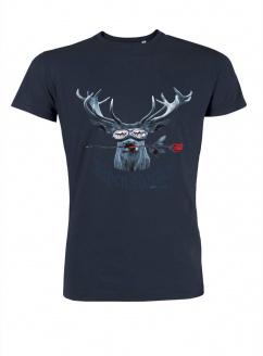 Mister Edelweiss Herren T-Shirt 21000 Alpenrocker Navy