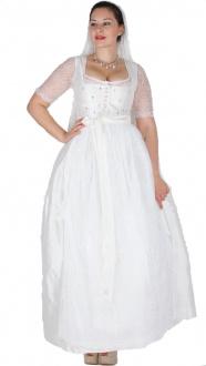 Sportalm Braut Dirndl Wolfgangsee 110er optical white