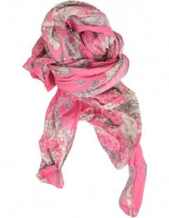 Cassandra Trachtenschal 60797 in pink Paisley