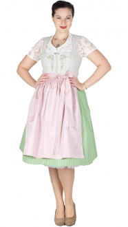 16029 Country Line 65er Dirndl grün creme Stretch