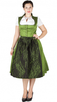 15092 Glanz & Zauber 72er Stretch Dirndl moosgrün