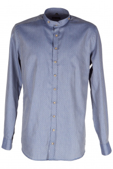 Orbis Herrenhemd 420002-3653/48 jeansblau Body fit