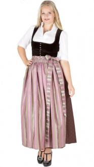 13086 Hofer Dirndl Birnbach 95er schoko