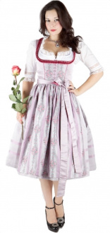 11351 Hofer Dirndl Lugano 70er rose