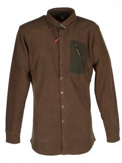 Orbis Fleecehemd 420000-3591/54 khaki