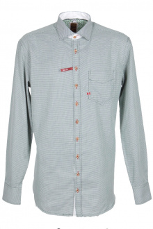 Orbis Herrenhemd 420000-3640/55 oliv Slim fit