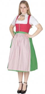 11923 Kaiser Franz Josef 70er Dirndl Wittensee 2 pink