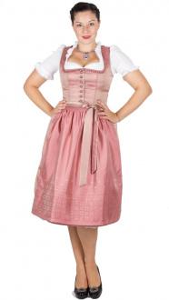 16196 Kaiseralm Dirndl Dora H8015 70er rosa Fb 23