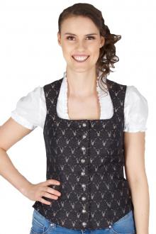 Kaiseralm Damen Bustier Emma 5245 schwarz Fb 999