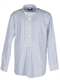 Orbis Kinderhemd 480002 2833/45 blau Stehkragen