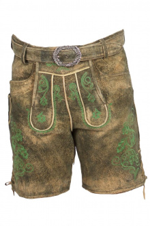 Country Maddox Kinder Lederhose Schorsch-G forest ZV used
