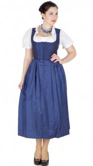 14495 Krüger Gastro Dirndl blau 85er länge