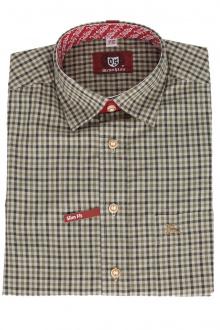 Orbis Trachtenhemd 920000-3170/57 dunkelgrün karo
