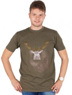 Orbis Herren T-Shirt 928000-3460/55 oliv Platzhirsch