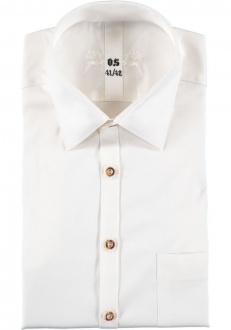 Orbis Herrenhemd 120012-3283/03 ecrue Slim fit