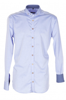 Orbis Herrenhemd 420000-3687/41 hellblau Slim fit