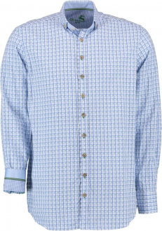 Orbis Herrenhemd 420005-3594/57 blau Slim fit