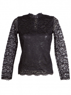 My Choice Damen Shirt Hanna 0717 4351 Schwarz Fb 900 langarm