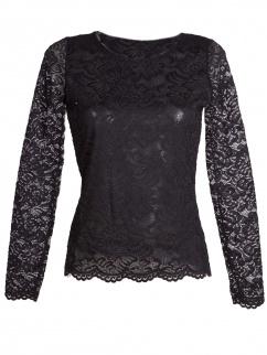 My Choice Damen Shirt Heike 0717 4361 Schwarz Fb 900