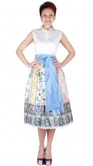 Sportalm Trachten Kleid Irene optical white