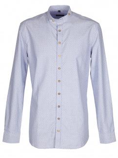 Orbis Herrenhemd 420000-3714/42 blau Body fit