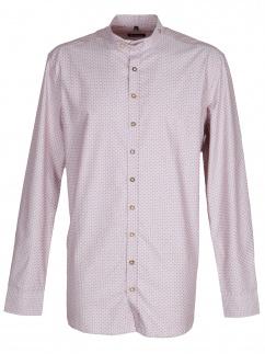 Orbis Herrenhemd 420000-3714/38 hochrot Body fit