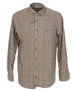 Orbis Herrenhemd 420000-3631/55 oliv regular fit