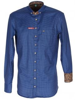 Orbis Herrenhemd 420001-3633/42 mittelblau Slim fit