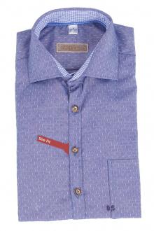 Orbis Herrenhemd 920002-3396/48 jeansblau