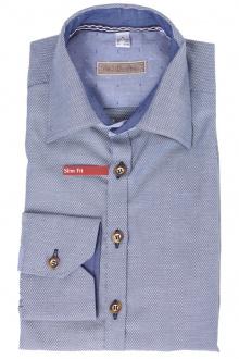 Orbis Herrenhemd 920004-3404/43 kornblau