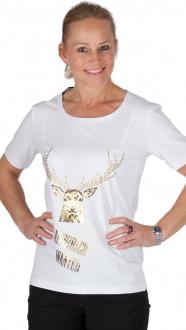 Orbis T-Shirt 958023 2206/01 weiß gold