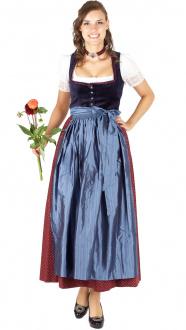 14869 Julia Trentini Dirndl Anna lang 95er dunkelblau