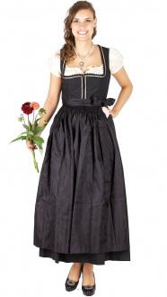 14895 Julia Trentini Dirndl Reserl lang 95er schwarz
