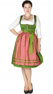 15201 Wenger Dirndl Yvonne 65er grün