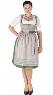 Wenger Dirndl Janine 15938 65er beige grün