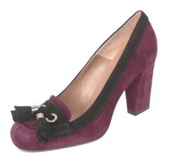 c27326 Via Costantina Leder Pump violett