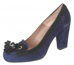 c27831 Via Costantina Leder Pump blau