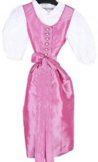 2950 Kaiser Franz Josef Taftdirndl Kelly Gr 104 pink mit Bluse