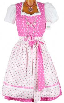 6749 Country Line 60er Baumwolldirndl pink weiß