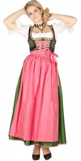 8318 Krüger Manufaktur 95er Dirndl pink grün