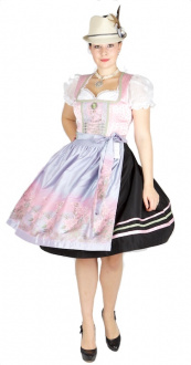 9985 Country Line 65er Dirndl rosa flieder