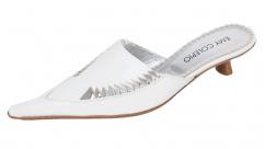 e106 Designer Damen Slipper Colepio Italy weiss