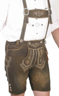Country Maddox Tom kurze Lederhose used braun