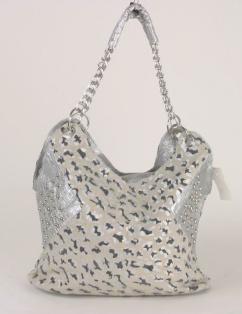 587 Damentasche silber