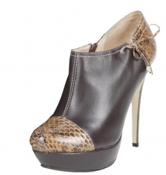 rosaRot High Heels Soho-1 Pumps marrone snake