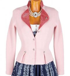 1486 Litzlfelder Damen Strickjacke rosa pink