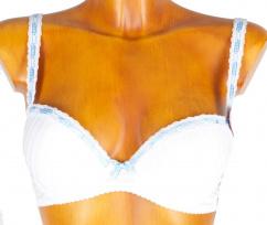 29021 Sassa Dirndl BH weiß blau