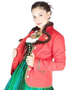 Sportalm leichte Daunen Jacke Helena in rot